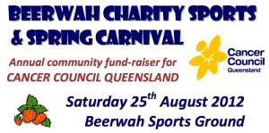 Beerwah Charity Sports and Spring Carnival 25th August 2012