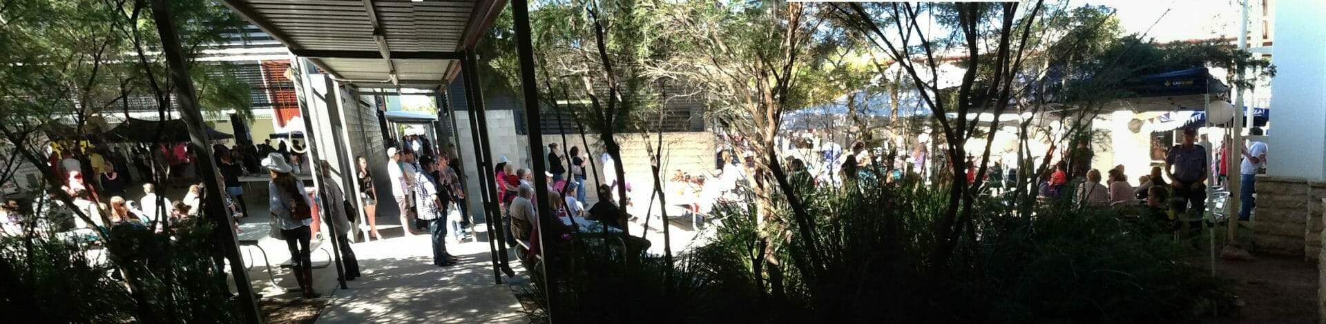 School enjoys perfect weather for FunFest 2012 at Glasshouse Country Christian College