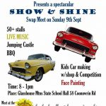 show and shine at the glasshouse markets