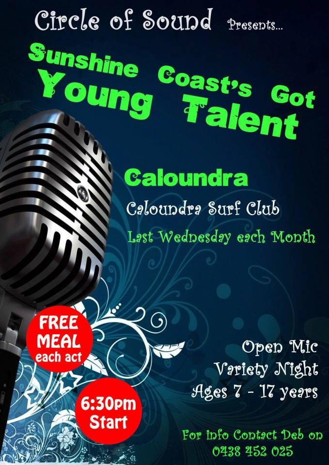 AD 670x960 Sunshine Coasts Got Talent Caloundra Surf Club