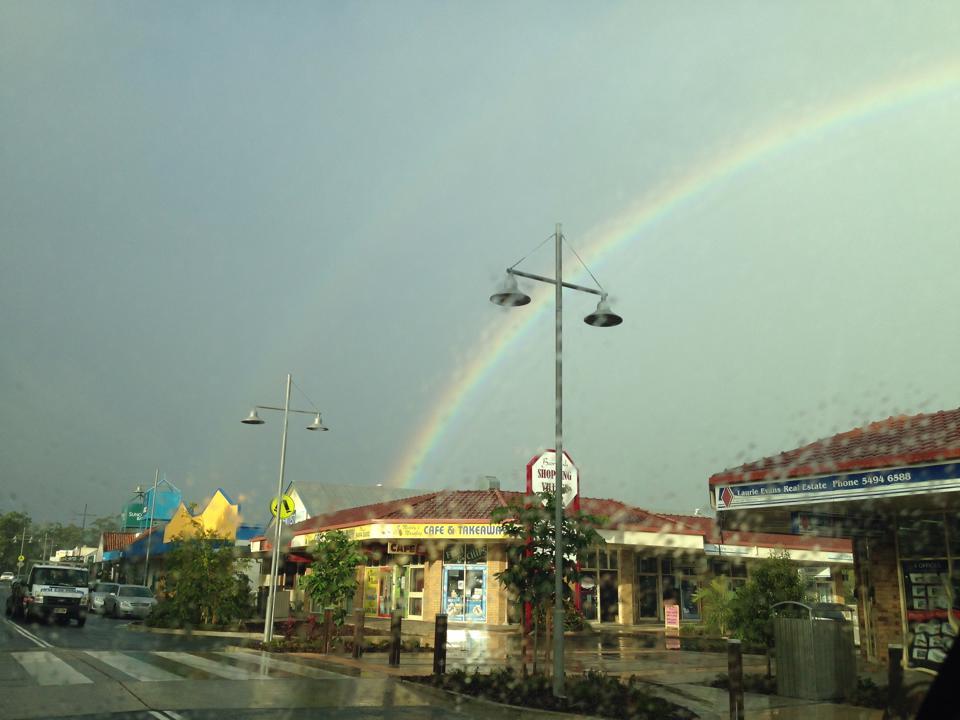 Beerwah Rainbow 20June2014 02