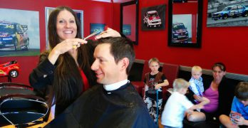 Meet the Shopkeeper:  Julie from V8 Supercuts in Beerwah