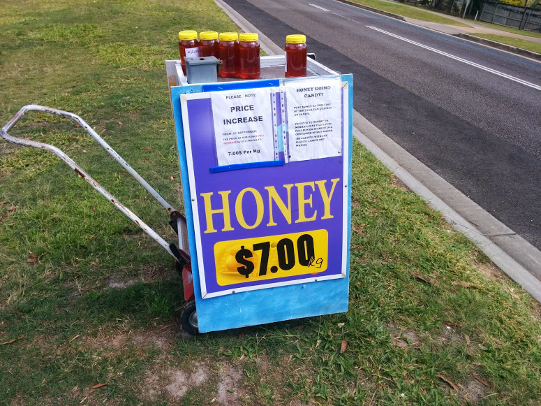 Local Glasshouse Mountains Honey