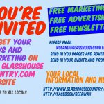 How to Promote Your Business or Skill for Free on our Glasshouse Country Website?