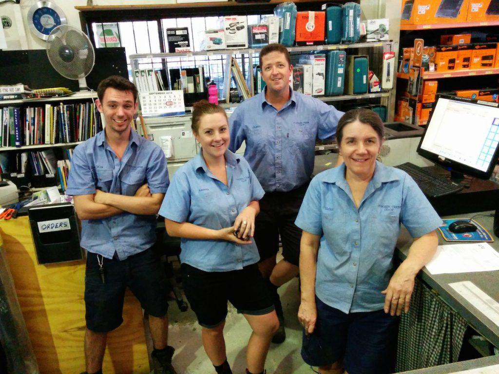 Meet the Team - The Helpful Handful at Coochin Creek Co-Op Beerwah September 2014