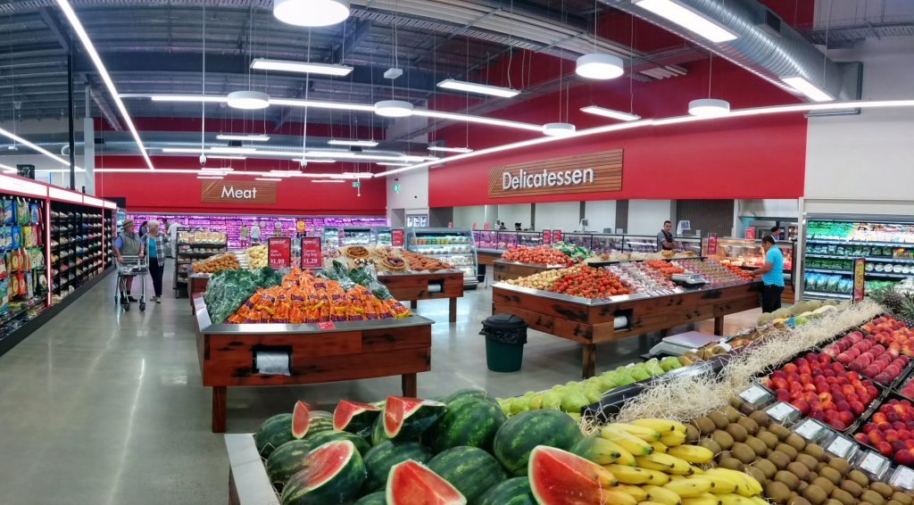 IGA Beerwah Opening Day Fresh Produce 15th October 2014