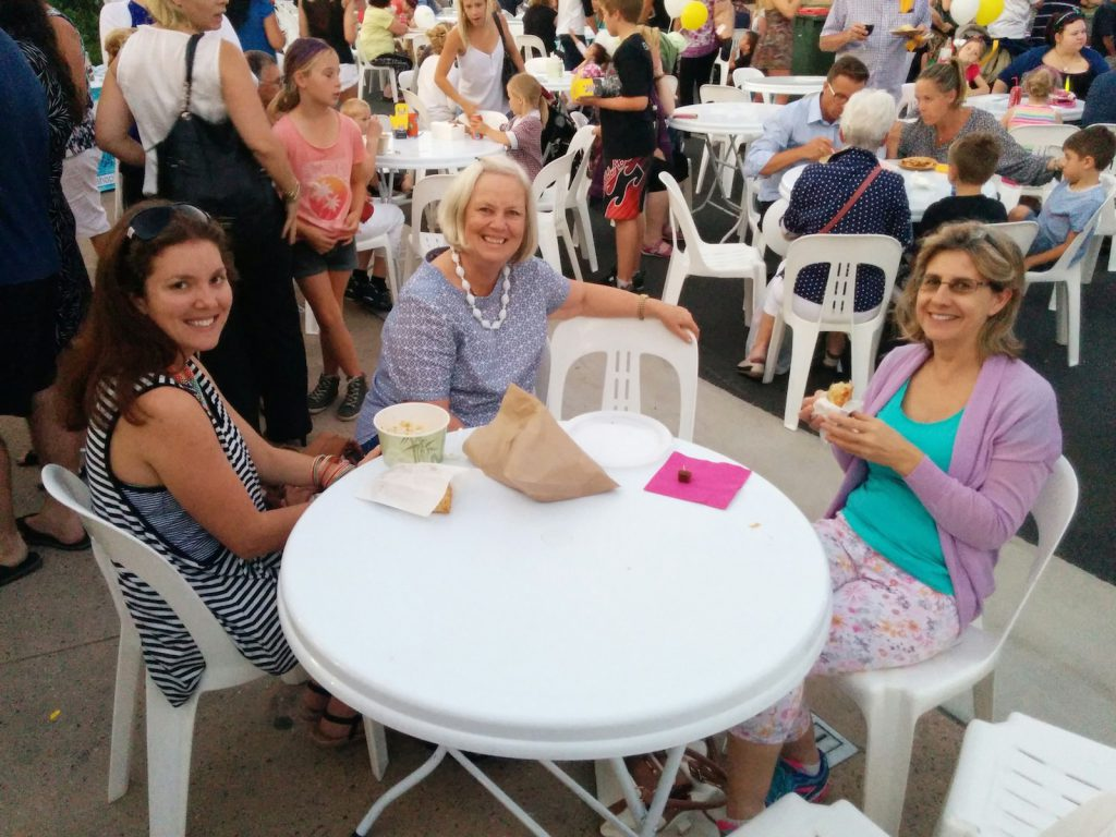 Locals from Glasshouse Country Christian College at the Beerwah Street Party 2014