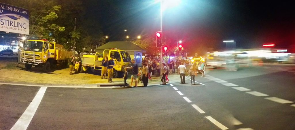 PANO Rural Fire Service at Beerwah Street Party 2014
