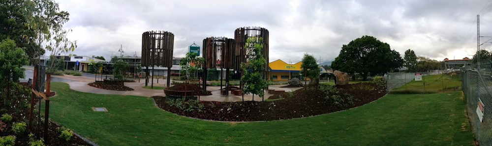 The new Park and Relaxing Area on Simpson Street 2014