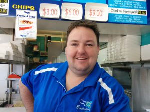 Todd Harris from Hinterland Seafoods