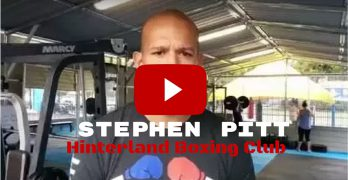 Meet Stephen Pitt the owner of the Hinterland Boxing Club in Beerwah
