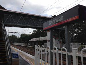 Beerwah Station Entrance