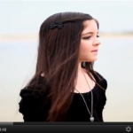 Pop Star Cassi's Hilbers sings her latest song 'Brave Forever' on YouTube