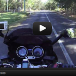 A motorbike ride between Mooloolah and Landsborough (about 3 minutes)