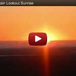 A Wild Horse Mountain Lookout Sunrise on Friday 5th October 2012