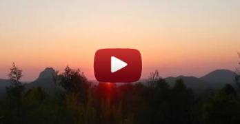 Glass Houser Mountains Sunrise