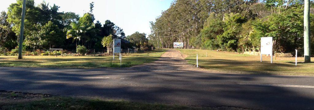 Coochin Twins Estate Entrance