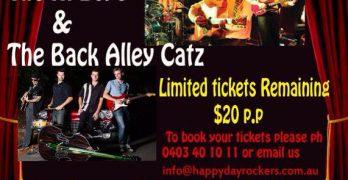 The Back Alley Catz Bill Board