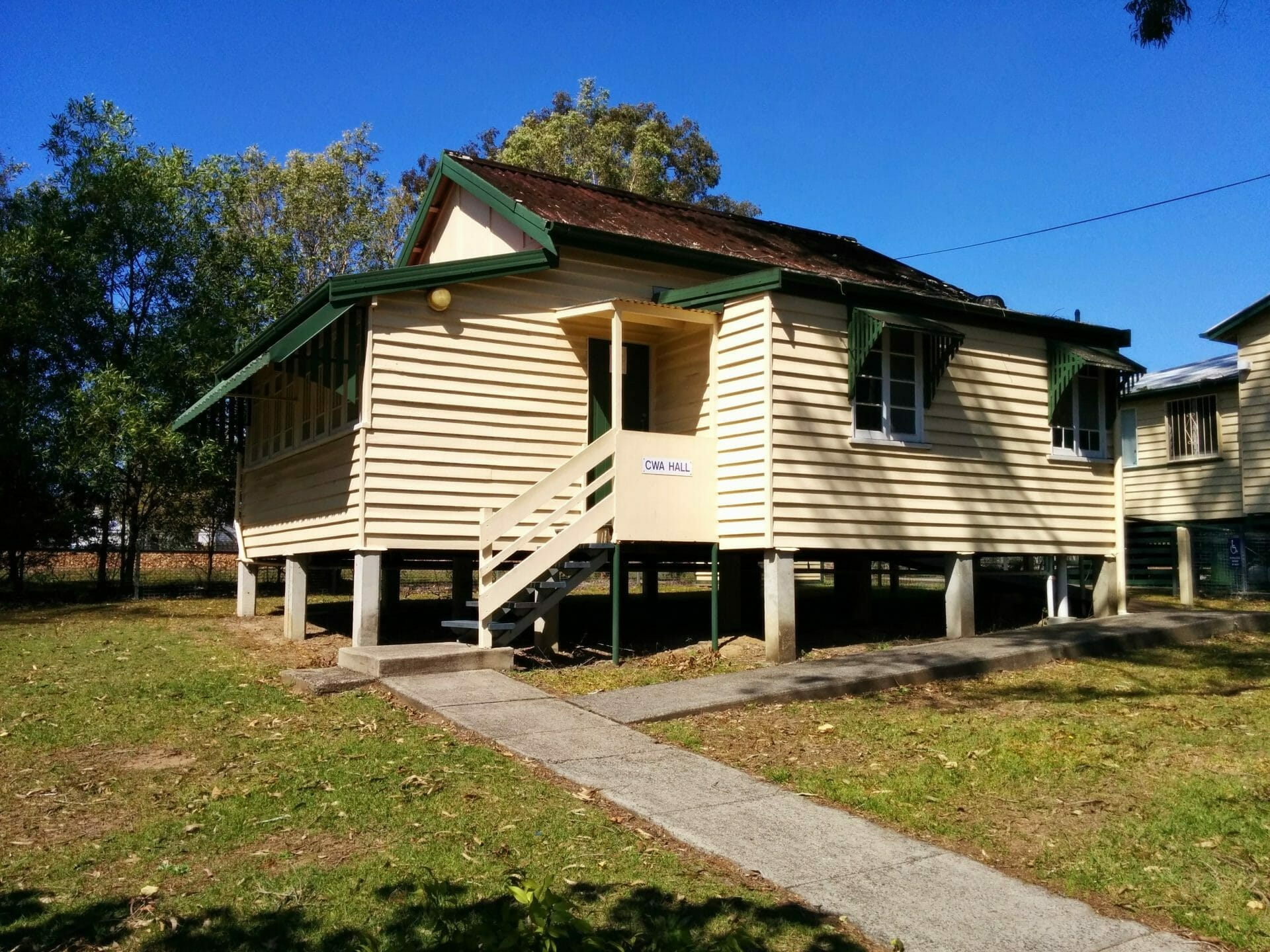 CWA Landsborough alongside Morris House in Landsborough