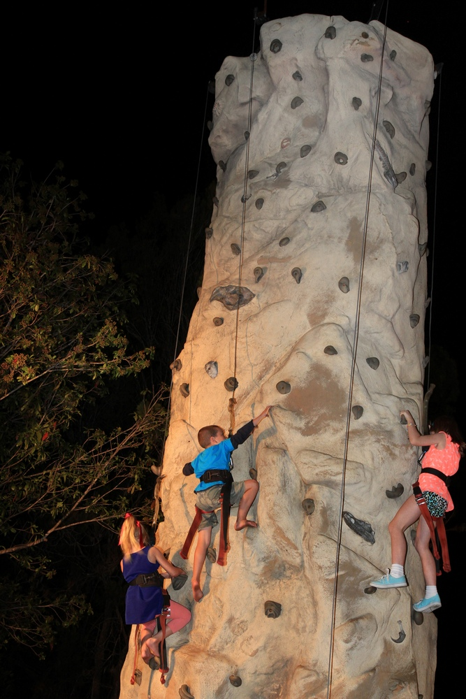 Climbing Tower in Beerwah 2014