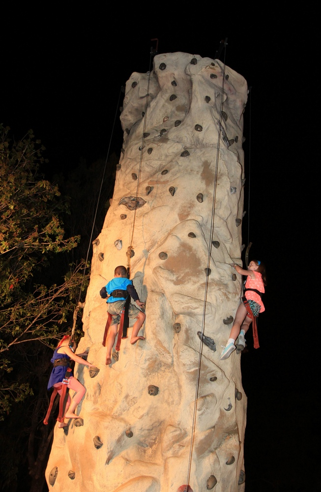 Freel Climbing Tower Beerwah Street Party 2014