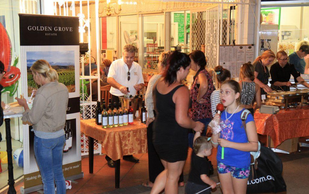 Oscar from Pasta DVine Selling Wine in Beerwah 2014