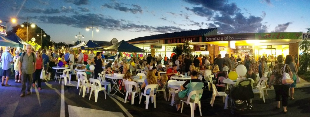 PANO 01 Beerwah Street Party 2014