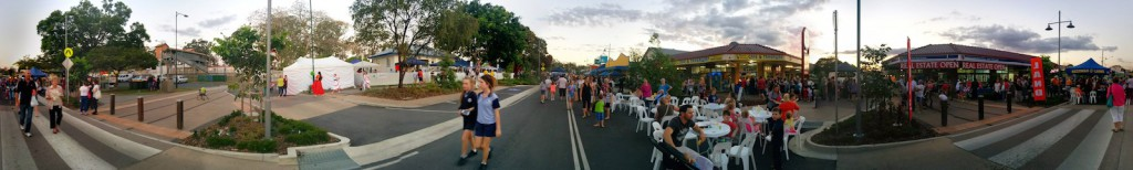 PANO Surround 01 Beerwah Street Party 2014