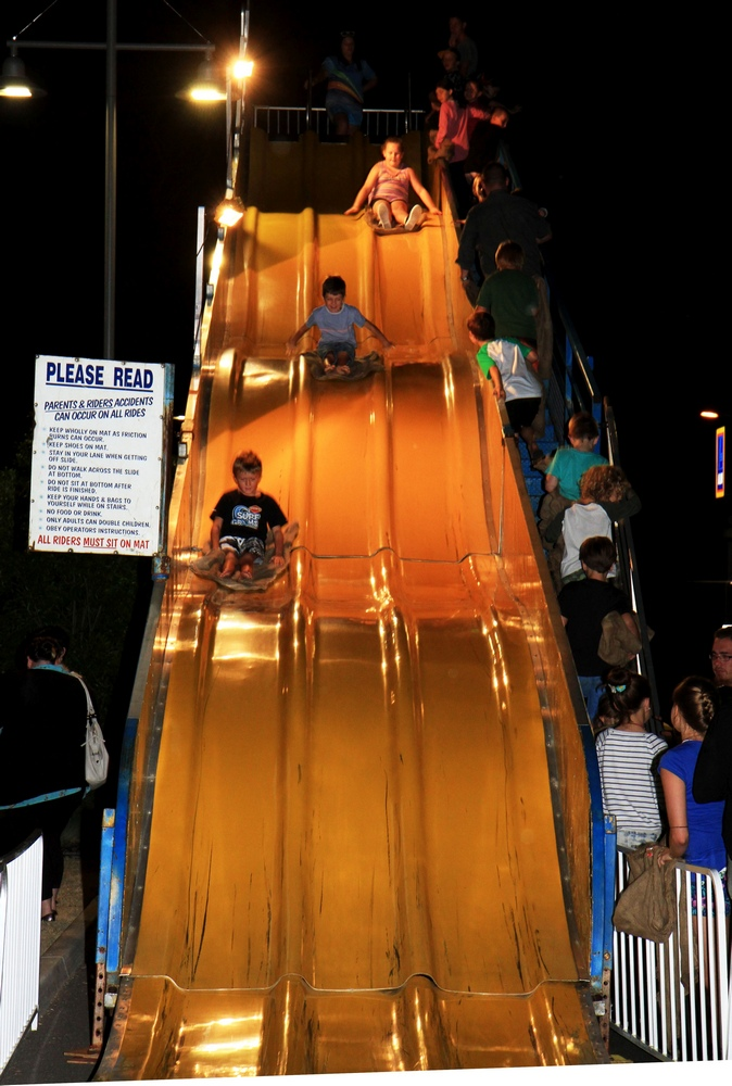 The lovely Street Celebration Slide in Beerwah 2014