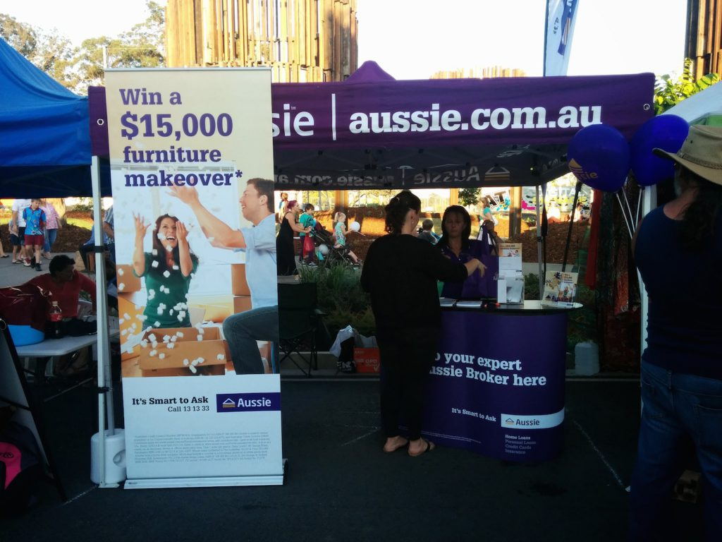 Aussie.com at the Beerwah Street Party