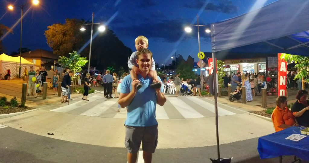 Big T at the Beerwah Street Party