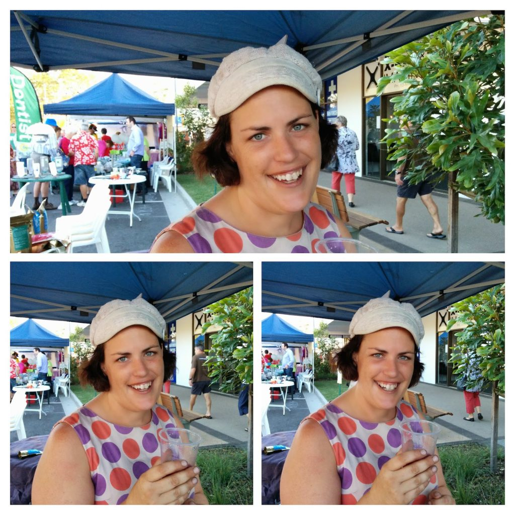 Organic Juice Lady Beerwah Street Party 2014.