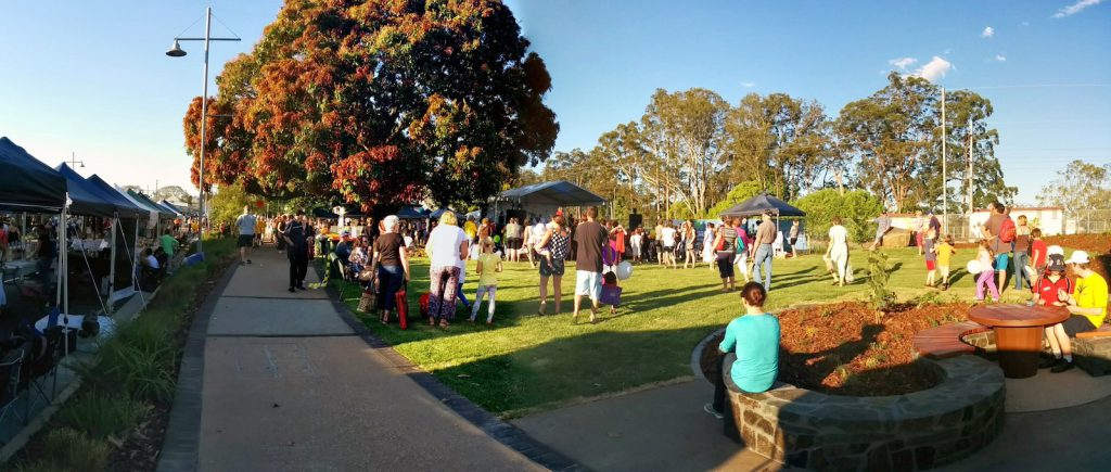 PANO 02 Beerwah Street Party 2014