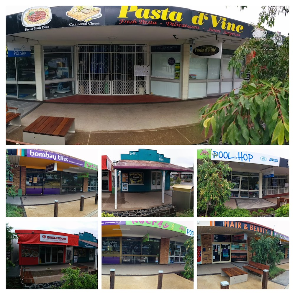 A Mix of Shop Fronts Beerwah Simpon Street