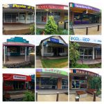 A Portrait of Simpson Street in Beerwah on Saturday 8th November 2014