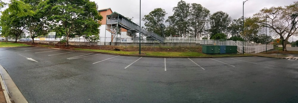 Beerwah Station and Alex Park Parking on a Relaxing Beerwah Morning