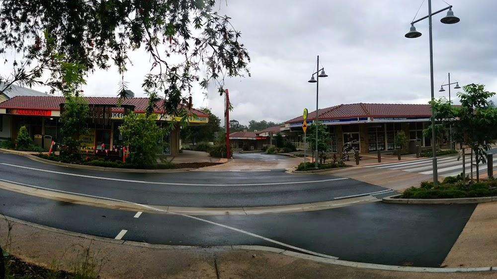 Beerwah Street Upgrade 2014