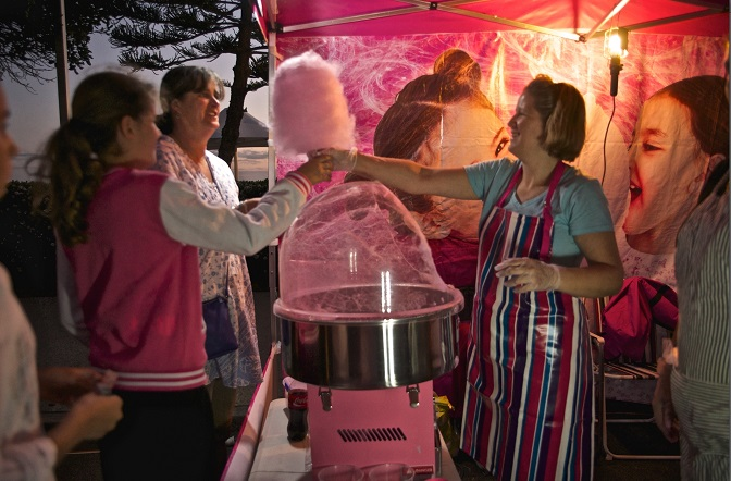 Fairy Floss at Twilight Markets