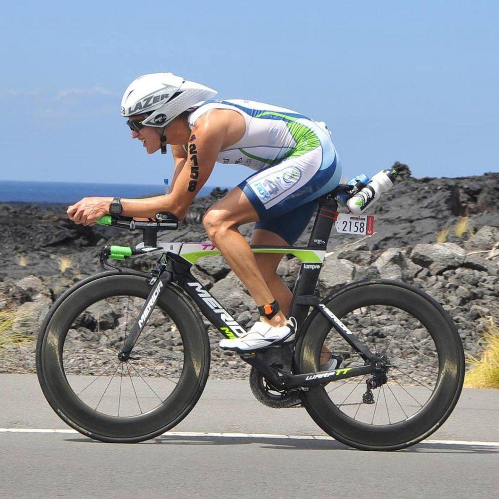 Damian Collins on his Bike 2014
