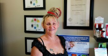 Kaz Thomas from Soulqi Acupuncture & Massage 2014