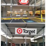 Beerwah IGA and Beerwah Target in June 2015