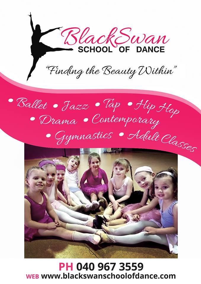 Black Swan School of Dance Flyer