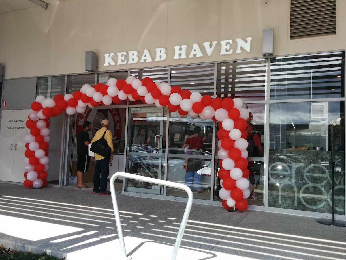 Kebab Haven Beerwah Opening Day