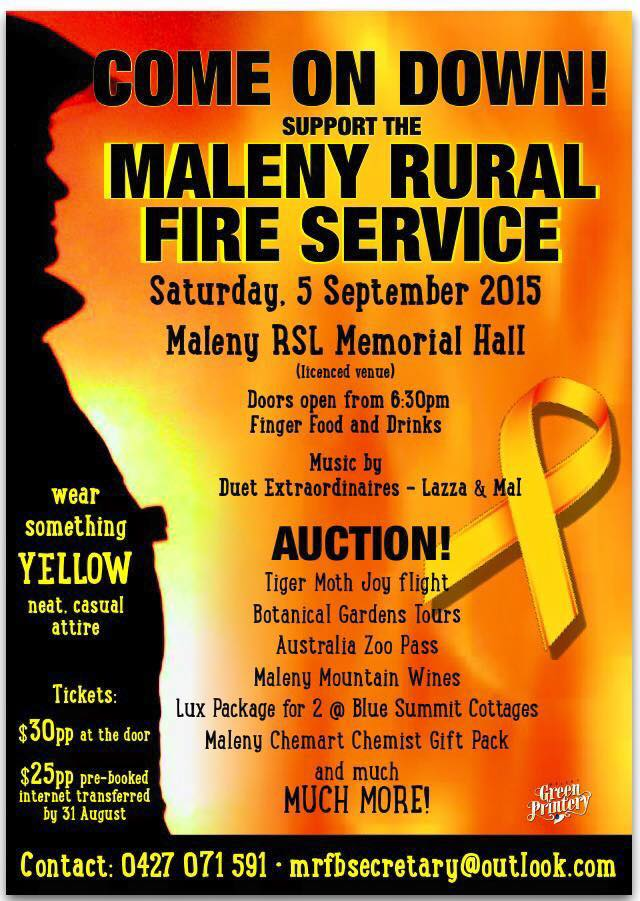 Maleny Rural Fire Service Auction