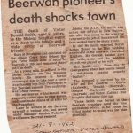 Victor Donald Smith a Pioneer of Beerwah RIP 02-01-1901 to 21-07-2015
