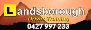 Ad Landsborough Driver Training 300x100