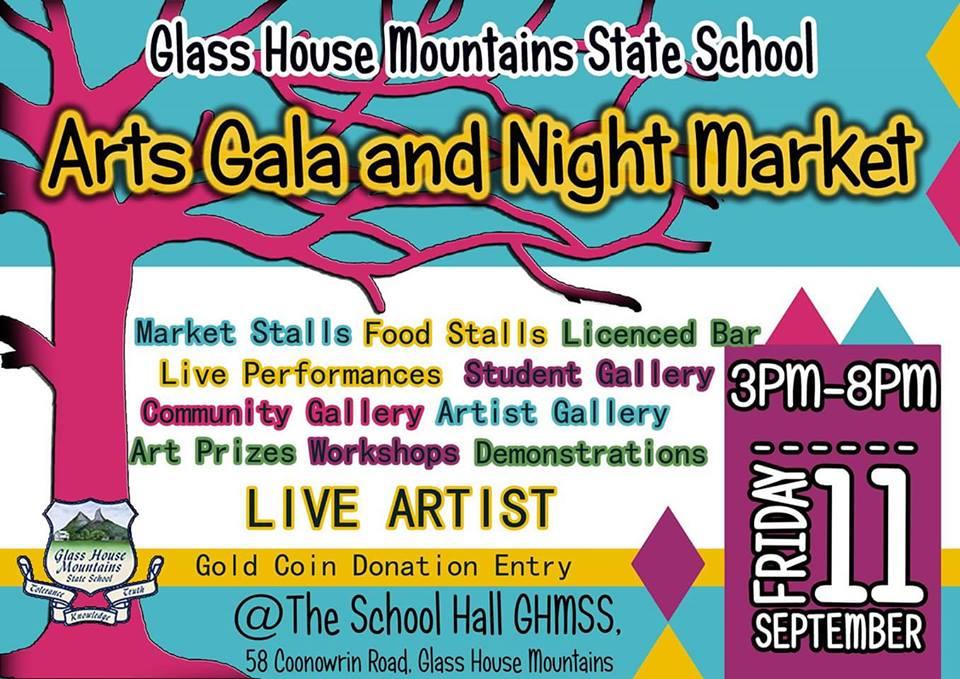 Arts Gala and Nigh Market