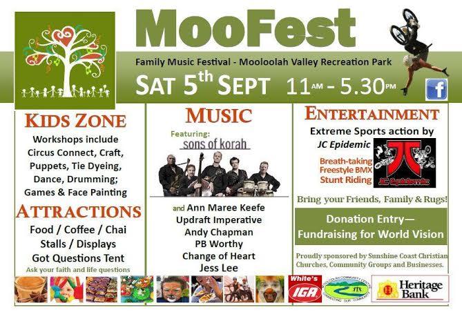 MooFest Family Fest Mooloolah 2015