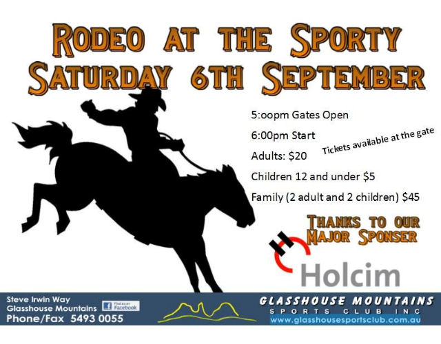 Rodeo at the Sports Club 2015