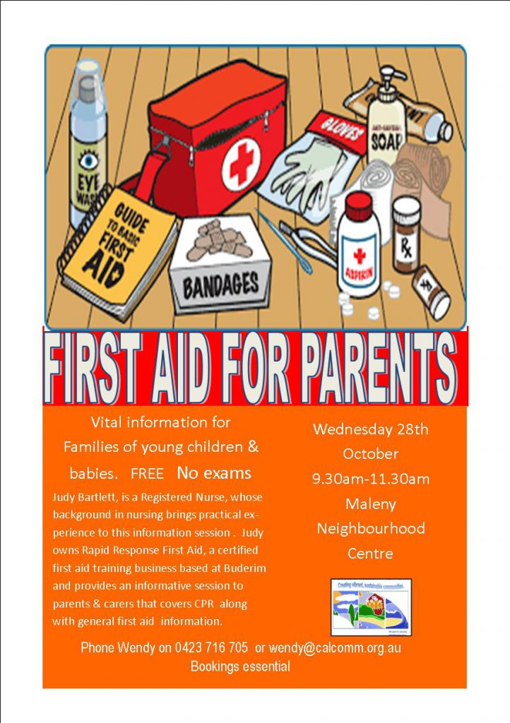 First Aid Maleny 2015